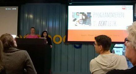 Pleun en Israh geven een workshop bij Google!